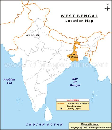 bengal india map map of west bengal india pictures to pin on