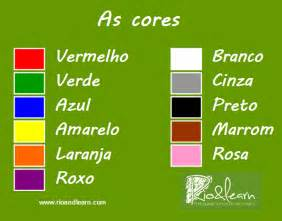 colors in portuguese colors in portuguese a dica do dia free portuguese