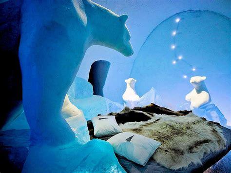 casa di ghiaccio come dormire in un hotel di ghiaccio in svezia