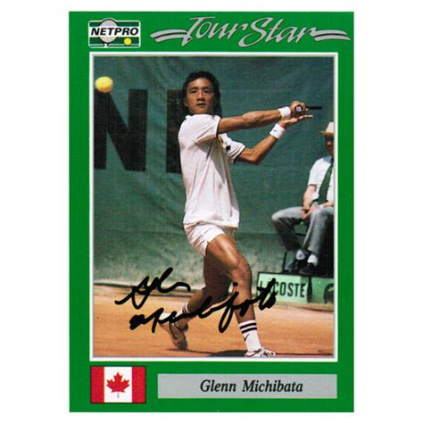 Tennis Express Gift Card - glenn michibata signed men s card
