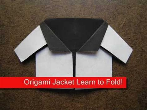 How To Make Paper Jacket - origami origami baby jacket