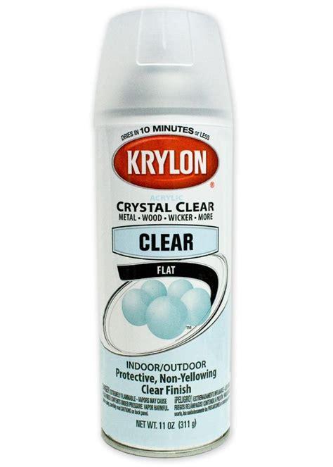 spray paint clear coat krylon clear coat spray