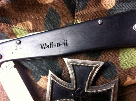 ss knives mercator pocket knife waffen ss marking