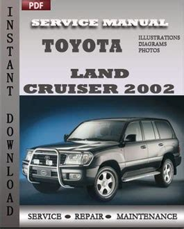 auto manual repair 2001 toyota land cruiser instrument cluster toyota land cruiser 2002 engine service repair manual repair service manual pdf