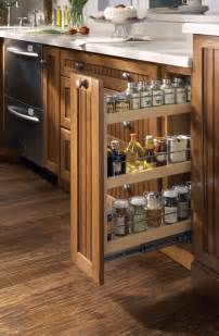 kitchen spice racks for cabinets new initiatives from merillat show homeowners how to create their dream kitchen