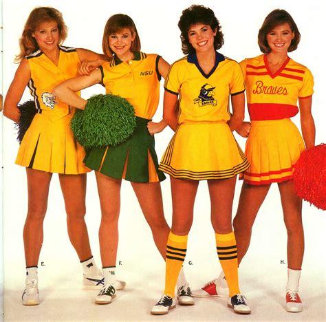 1980 cheer hair styles 1980s cheerleader uniform the world s best photos of