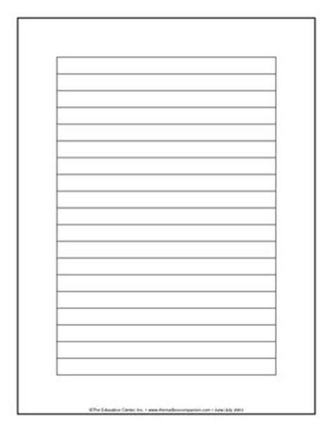 Lined Paper With Empty Border | free lined paper template with borders 7 best images of
