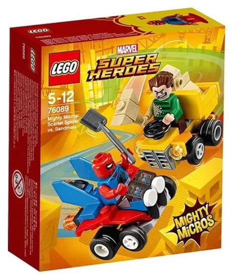 Lego Scarlet Spider Brick Minifigure lego marvel 2018 mighty micros sets revealed photos