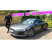 WRAPPING MY NEW AUDI R8  YouTube