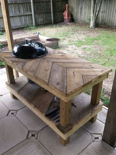 pit cooking table best 25 grill table ideas on bbq table grill