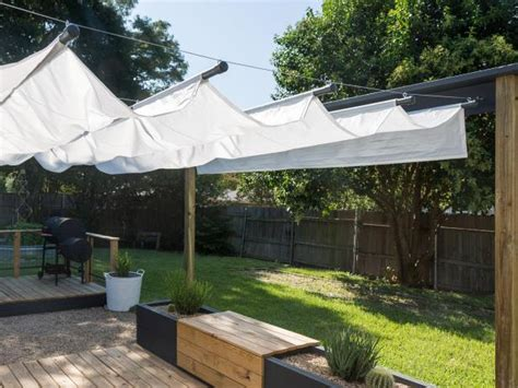 make your own canopy how to build an outdoor canopy hgtv