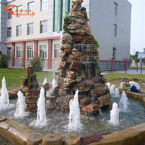 waterfall decoration for homes artificial rock waterfall manufacturer of waterfall buddha