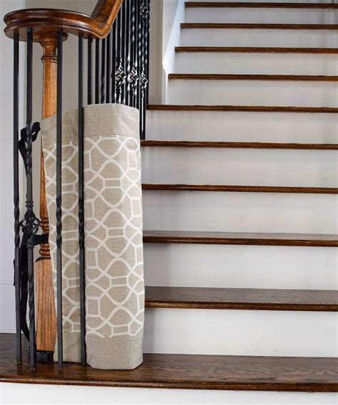 safety gate for top of stairs with banister 41 best images about the stair barrier 2016 on pinterest