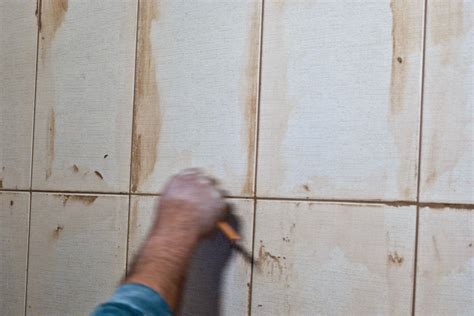 removing wall tiles in bathroom how to grout wall tiles howtospecialist how to build step by step diy plans
