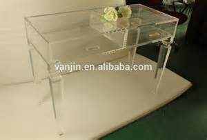 Clear Vanity Table Plexiglass Vanity Drawer Tables Clear Acrylic Dressing Table With Drawers Buy Vanity Table