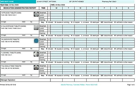 printable monthly medication administration record