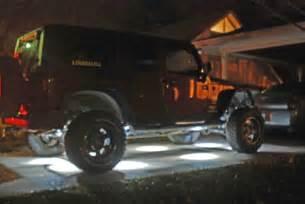 Jeep Rock Lights Rock Light Question