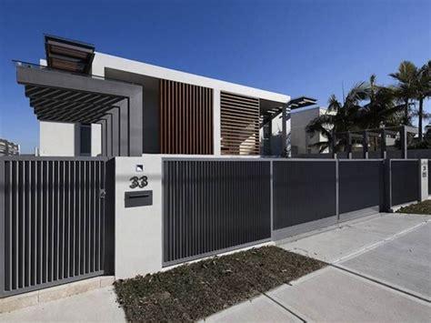 home design simply minimalist white trend simple minimalist house fence design 4 home ideas