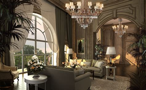 mansion interior mansion interior 3d max on behance