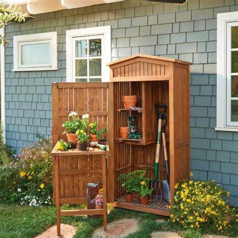 organizzare il giardino organizzare lo spazio per sistemare tante cose in giardino
