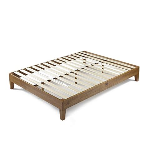 Zinus 12 Inch Deluxe Wood Platform Bed No Boxspring Wood Bed Frame Support