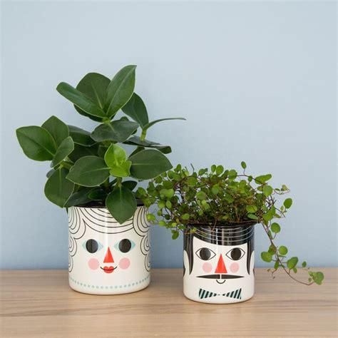 design of flower pot leo bella omm design enamel flower pot couple set of 2