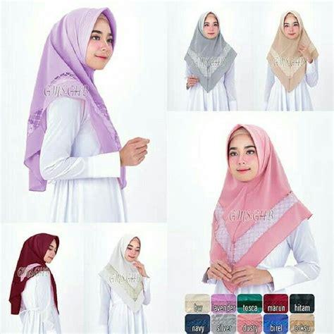 Best Price Khimar Rempel Renda 112 best jilbab instan jilbab pesta jilbab murah images