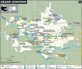 map of grand junction city usa maps
