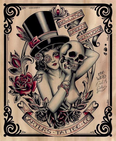 tattoo flash graphics paul anthony dobleman