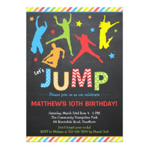 Jump Higher Brilliant Sarcastic Greeting Card Zazzle Jumping Cards Zazzle