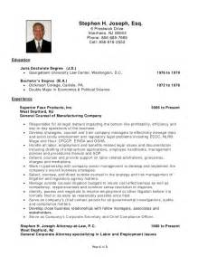 Bankruptcy Lawyer Sle Resume by Lawyer Resume Ontario Sales Lawyer Lewesmr