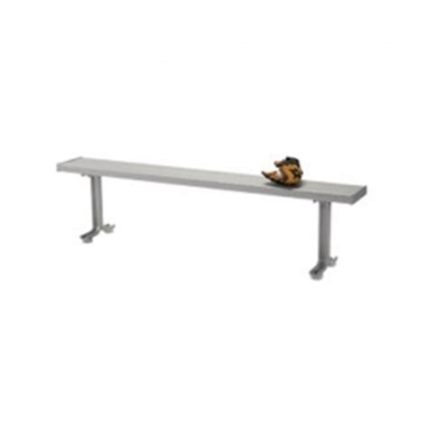 locker room benches canada lightweight aluminum pedestal locker room benches with optional rubber feet available