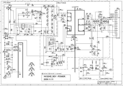 Psu Tv Samsung Type 32f5000 sanyo tv power supply schematics sanyo get free image
