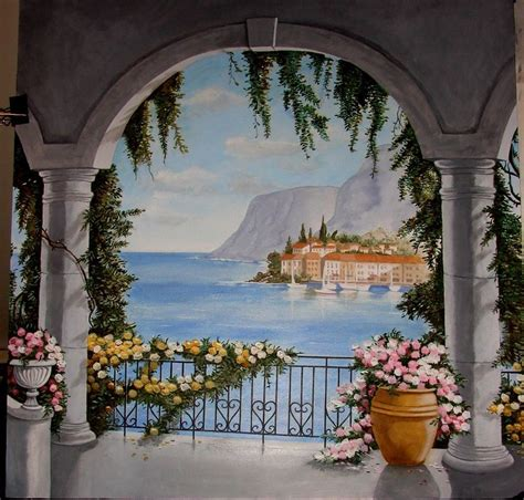 Trompe L Oeil Mural 2363 by 69 Best Wall Murals Images On Murals Painted