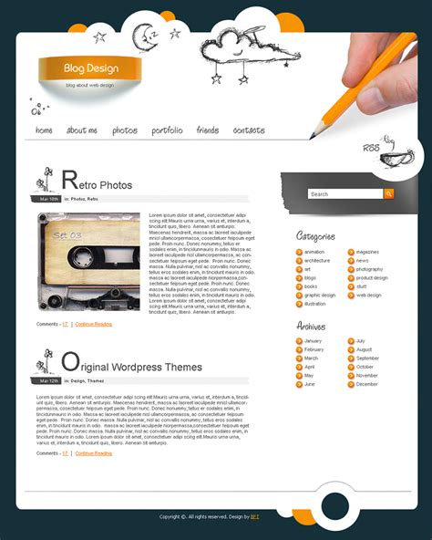 free blogger templates for your blog free blog templates sketch blog templates