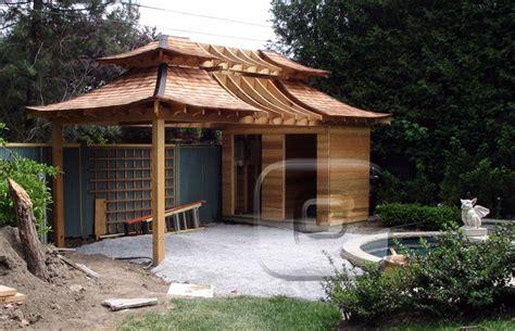 japanischer garten reihenhaus japanese inspired shed japanese teahouse inspired by the
