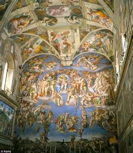 What Is Painted On The Ceiling Of The Sistine Chapel by The Vatican Hires Out Sistine Chapel To Porsche Daily