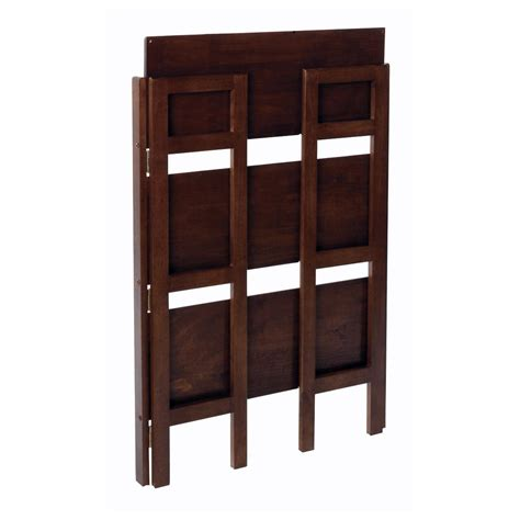 winsome wood folding bookcase winsome wood stackable folding shelf 3 tier amazon ca