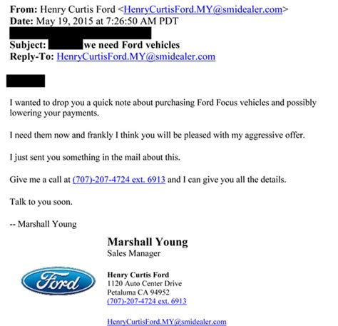 Warranty Release Letter 2013 Ford Focus Lemon Autos Post