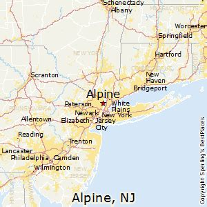 best places to live in alpine new jersey