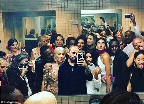party in the bathroom the real party at the met gala was in the bathroom daily