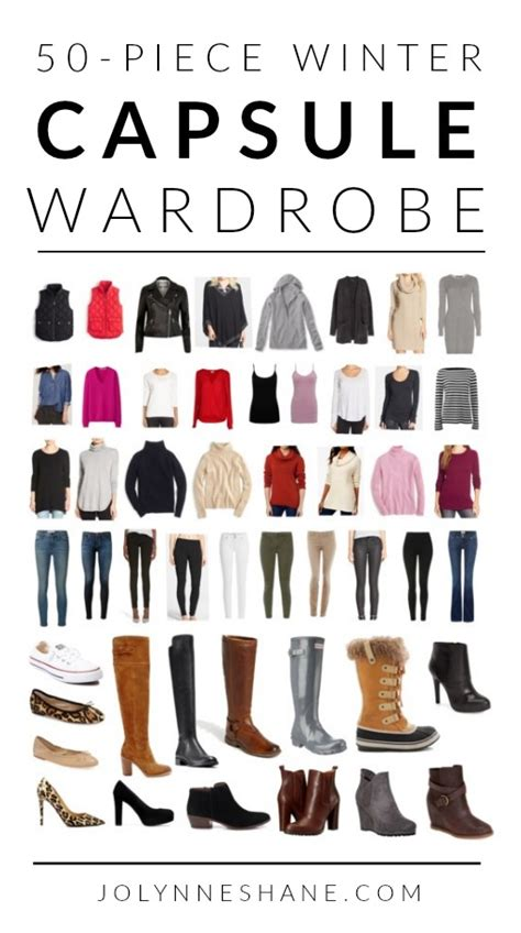 50 winter capsule wardrobe fashionfriday