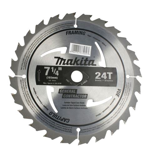 makita 7 1 4 quot circular saw blade 24ct for electric