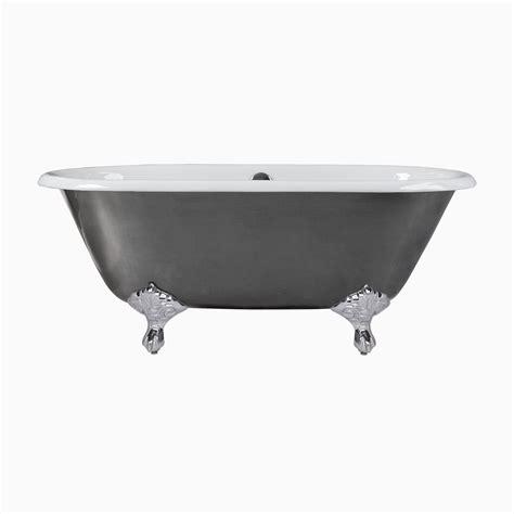 cast iron clawfoot 66 quot rosa cast iron freestanding clawfoot bathtub