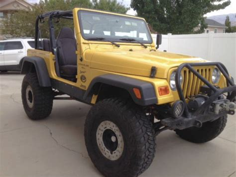 jeep wrangler yellow for sale yellow jeep wrangler for sale 1 179 used cars from 500