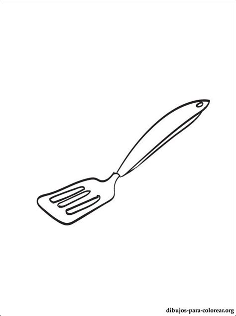 Kitchen Utensils Pictures To Color Free Coloring Pages Of Kitchen Tools
