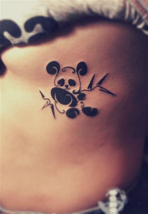 tattoo de panda significado oso panda tribal tatuajes para mujeres