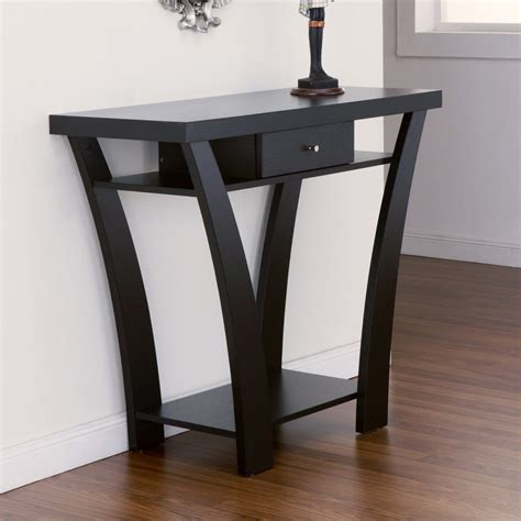 sofa table black exceptional design black console table style home