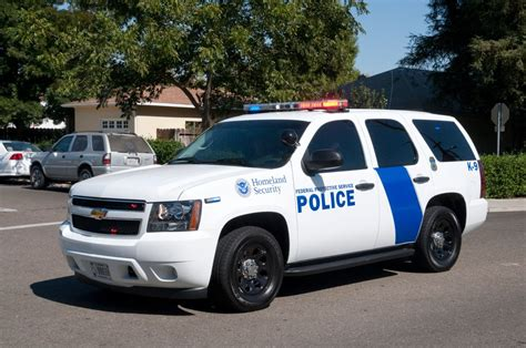Alarm Mobil Rwb federal protective service chevy tahoe white blue flickr