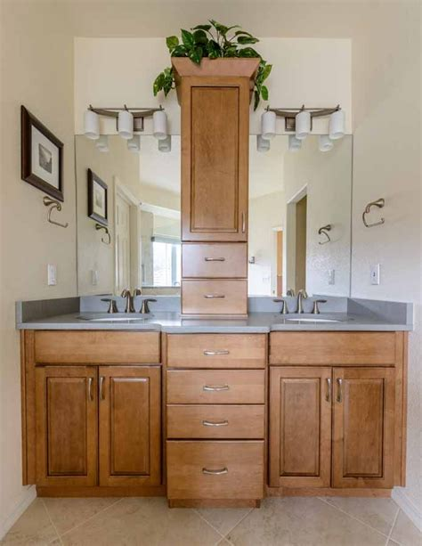 bathroom cabinets colorado springs peregrine bathroom remodel colorado springs kraftmaid
